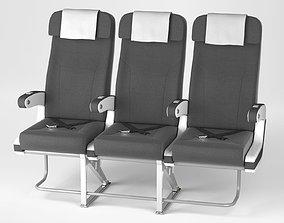 3D model Airplane chair V4