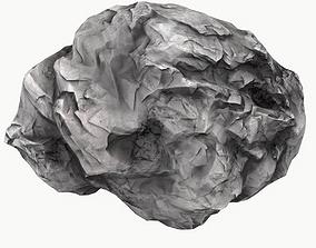 3D asset realtime Meteor Asteroid Rock 4K