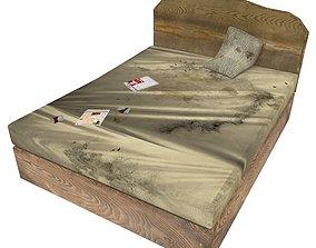 Bedcloth 125 3D asset