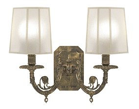 3D Arizzi 495 classic two arms sconce