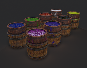 3D model Dye Bucket
