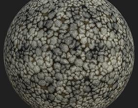 3D asset Stylized Medieval Rocks