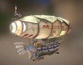 3D asset zeppelin