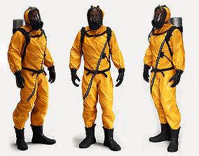 3D Biological Protection Suit