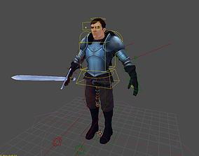 3D model Alaric Snow Rig for Blender