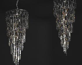 Crystal Chandelier Il Paralume Marina Art 1701 KR TR 3D