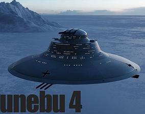 3D model Haunebu 4