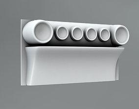 elements 3D Pilaster Capitals