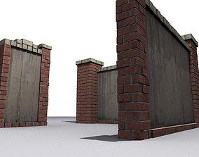 3D asset Fence 10