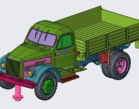 3D print model GAZ-51 boart
