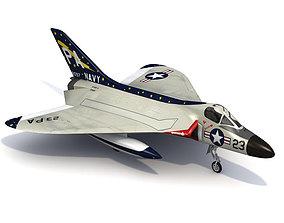 Douglas F4D F-6 Skyray 3D model