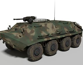 3D model BTR 60 Armoured Personnel Carriers