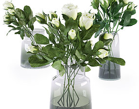 3D Bouquet of roses 4