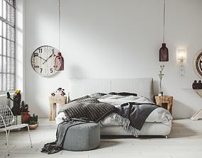 3D SCANDINAVIAN INTERIOR furniture