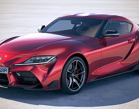Toyota Supra 2020 3D