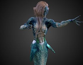 Rigged Mermaid 3D Models | CGTrader