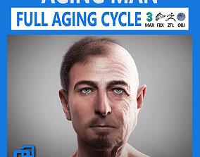 Aging Man 3D
