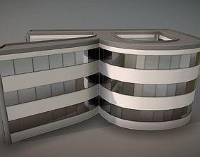 City Building Design r-2 3D model