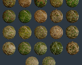 22 Ground Forrest Seamless PBR Texture Pack 3D