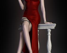 3D print model Ada Wong Resident Evil