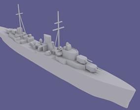 3D printable model HMS Ajax ship