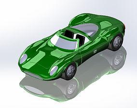 1966 Jaguar XJ13 For 3D Printing