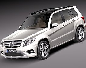 Mercedes-Benz GLK 2013 3D