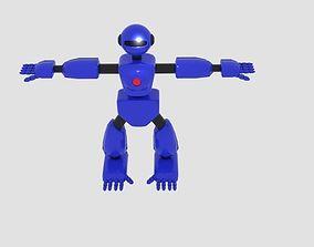 Robot Character Cartoon Bot 3D