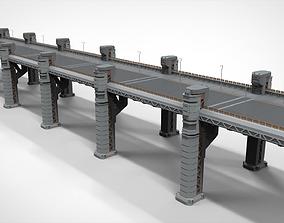 sci-fi bridge 2 3D model