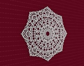 3D model ornament Mandala