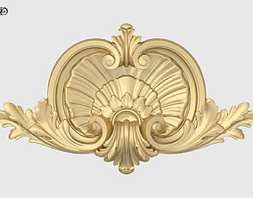 3D print model Shell With Acanthus Onlay