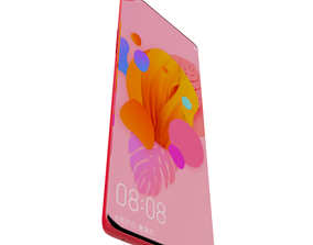 oneplus 8 pro red phone design 3D MODEL