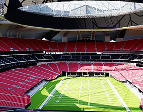 Mercedes-Benz Stadium Atlanta 3D