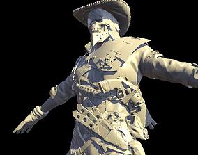 3D model Hellish Sheriff High Poly