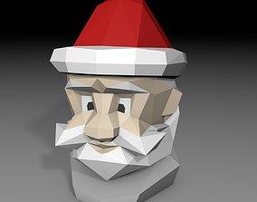 3D printable model printable Santa