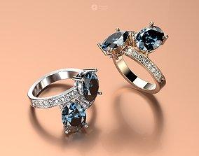 ring 3d models download 3D print model jewelry