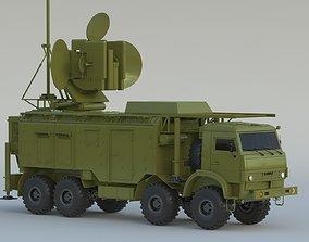 3D Krasukha Electronic Warfare System