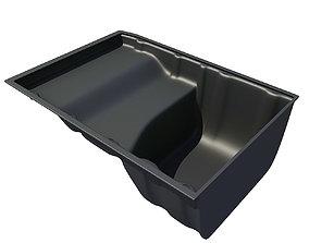 Black Oil Sump Pan 3D model 55