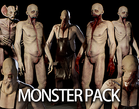 3D Monsters Pack