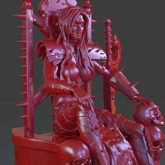 Killer Death Lady