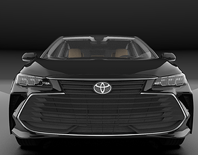 TOYOTA AVALON 2020 XLE HQ INTERIOR Rear Bumper Support 3D