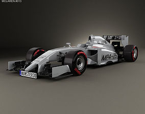 3D McLaren MP4-29 2014