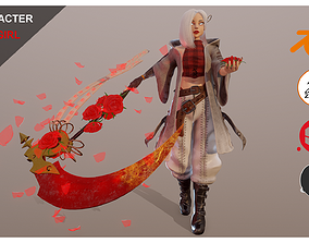 Death Girl 3D model