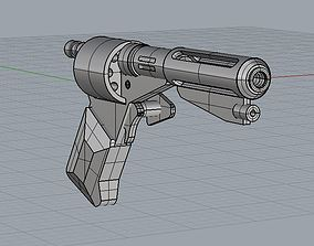 3D printable model Logans Run DS Sandman Flamegun 3