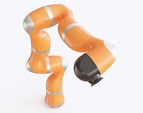 3D model Industrial robot 04