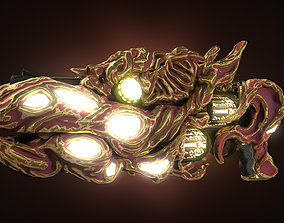 3D asset Divine Demon Killer Weapon