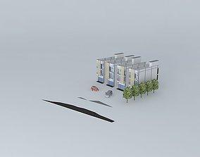 Buildings 3 FL 3D model