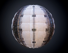 Sci-Fi Military Seamless PBR Texture 26 3D model
