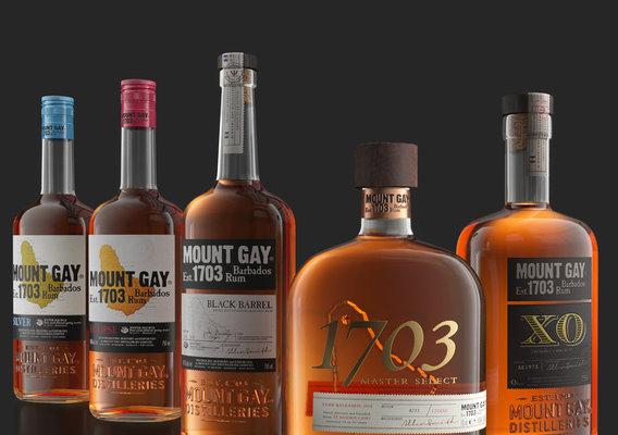 Mount Gay Barbados Rum Pack