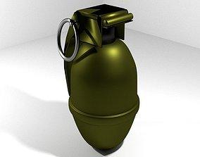 Hand Grenade Illuminating 3D